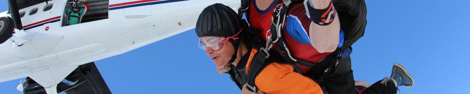 effects of skydiving on the brain