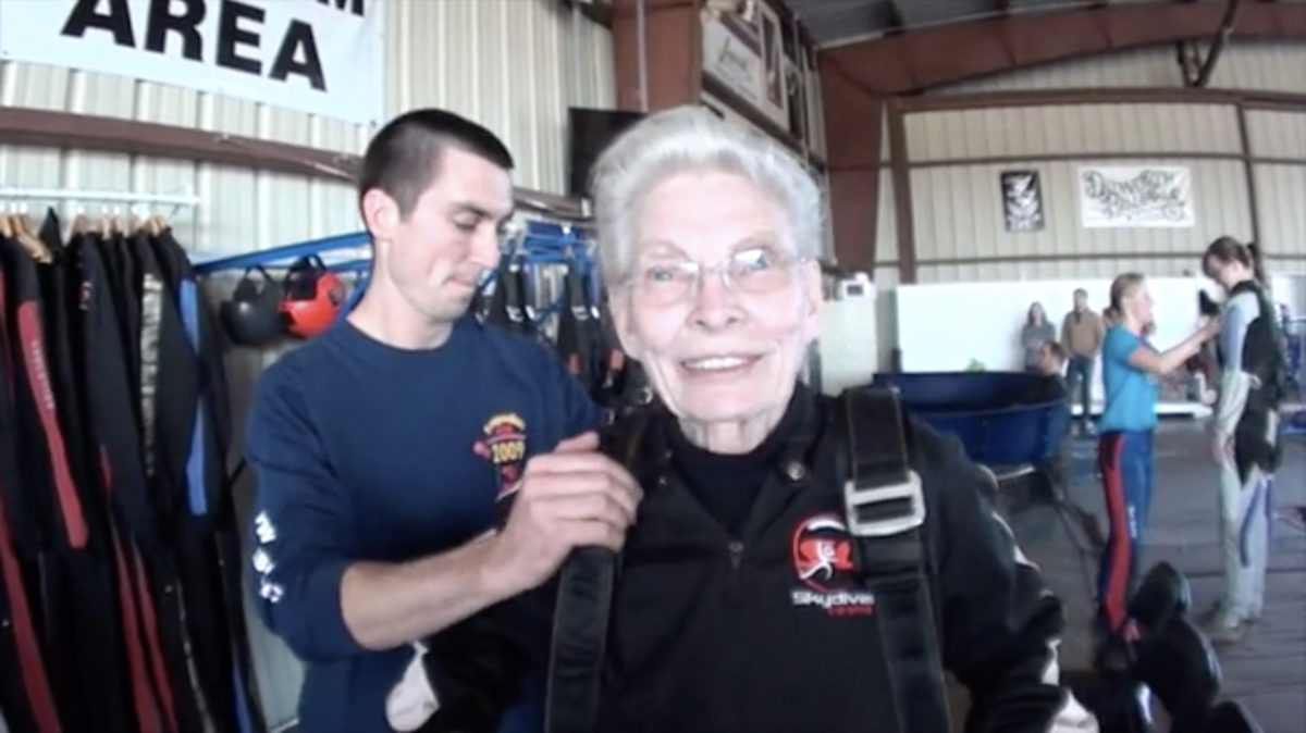 dentures and skydiving
