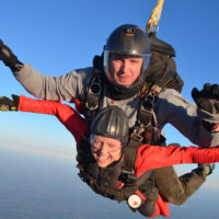 barbara pigg with cancer skydiving ultimate bucket list
