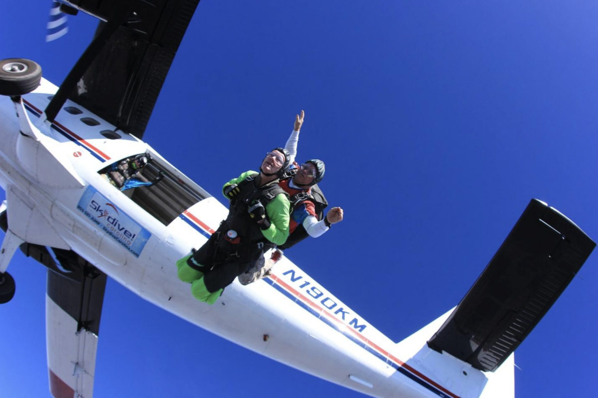 80 year old skydiving