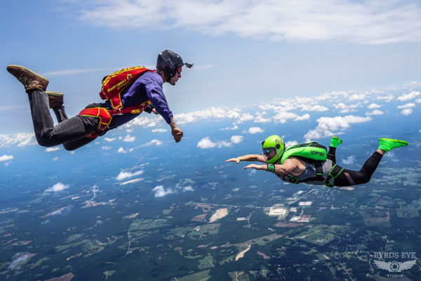 how to become skydiving coach