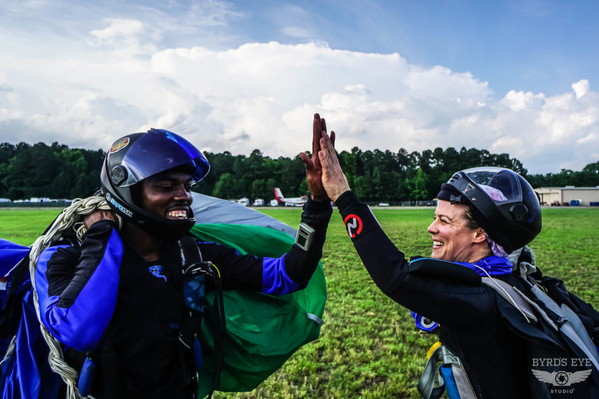 feel first time tandem skydiving tips