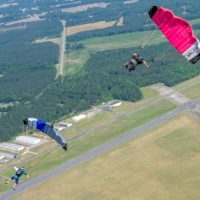 how long does skydiving take