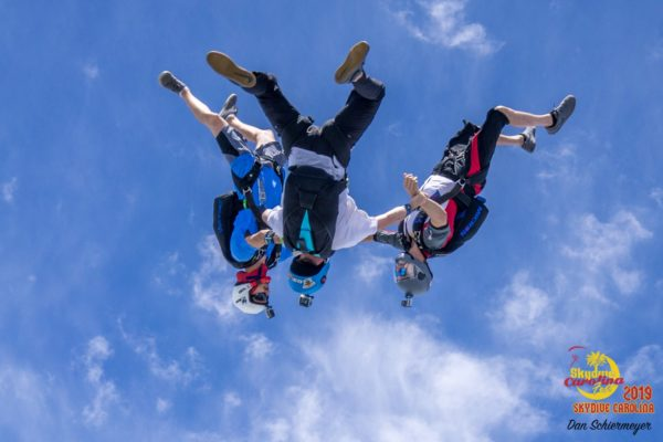possibilities after tandem skydiving