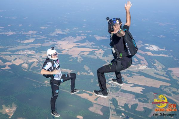 fear of heights skydiving coach
