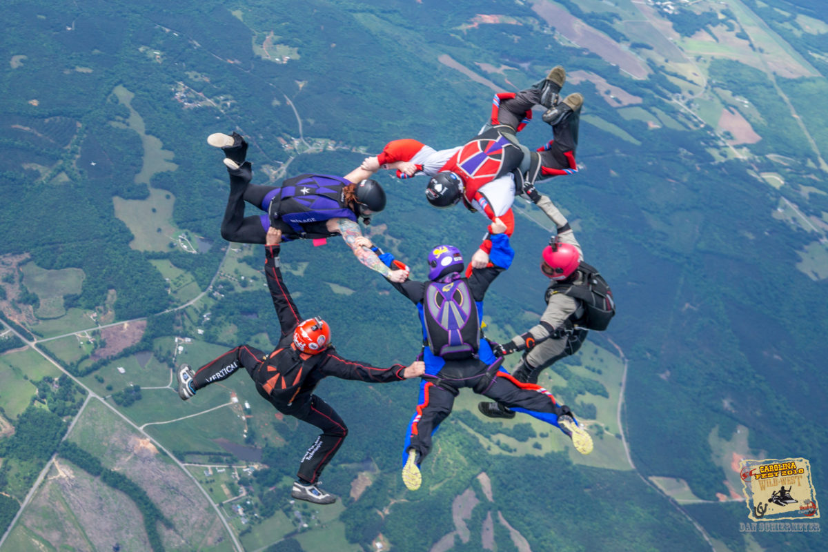 how to become certified skydiver license skydiving formation