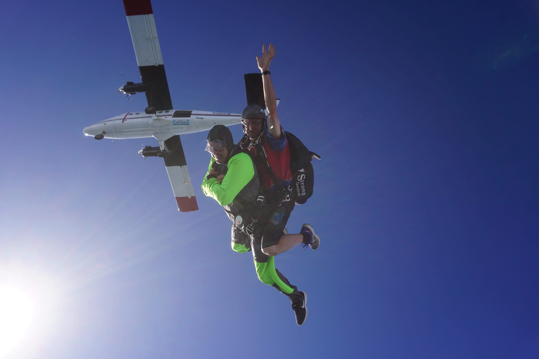 tandem skydiving bucket list when did skydiving start