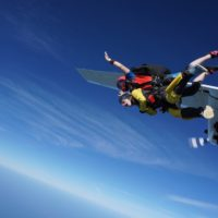how long does the skydiving process take