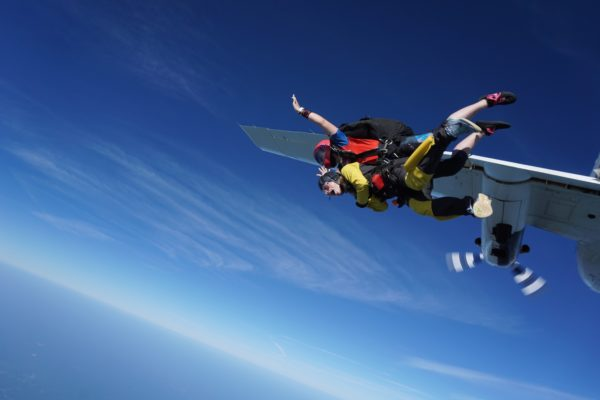 the side effects of skydiving