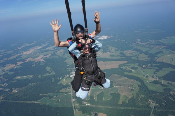 skydiving weight limits