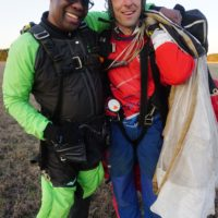 david carroll skydiving coping with grief and loss skydiving experience