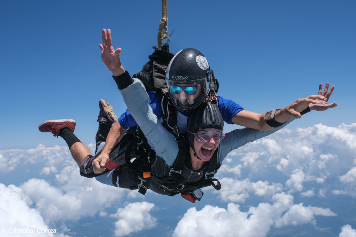 skydiving and adrenaline