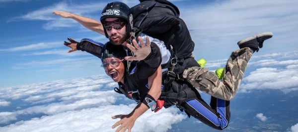 Is Skydiving Scary Skydive Carolina