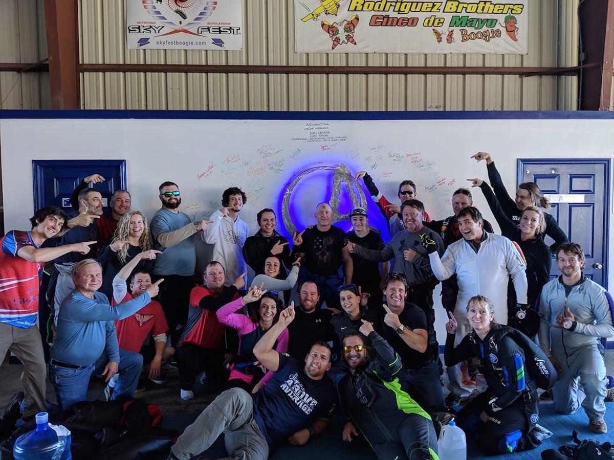 skydiving community