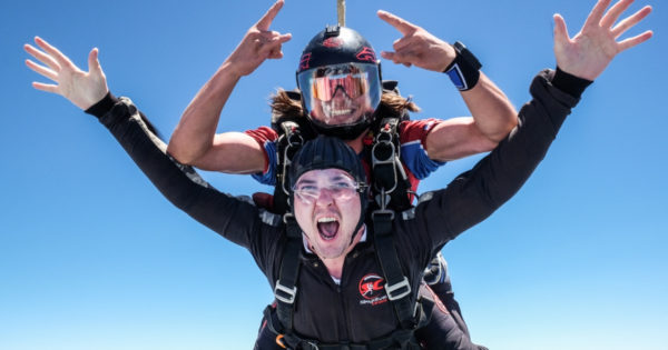 things to learn before you die first time skydiving