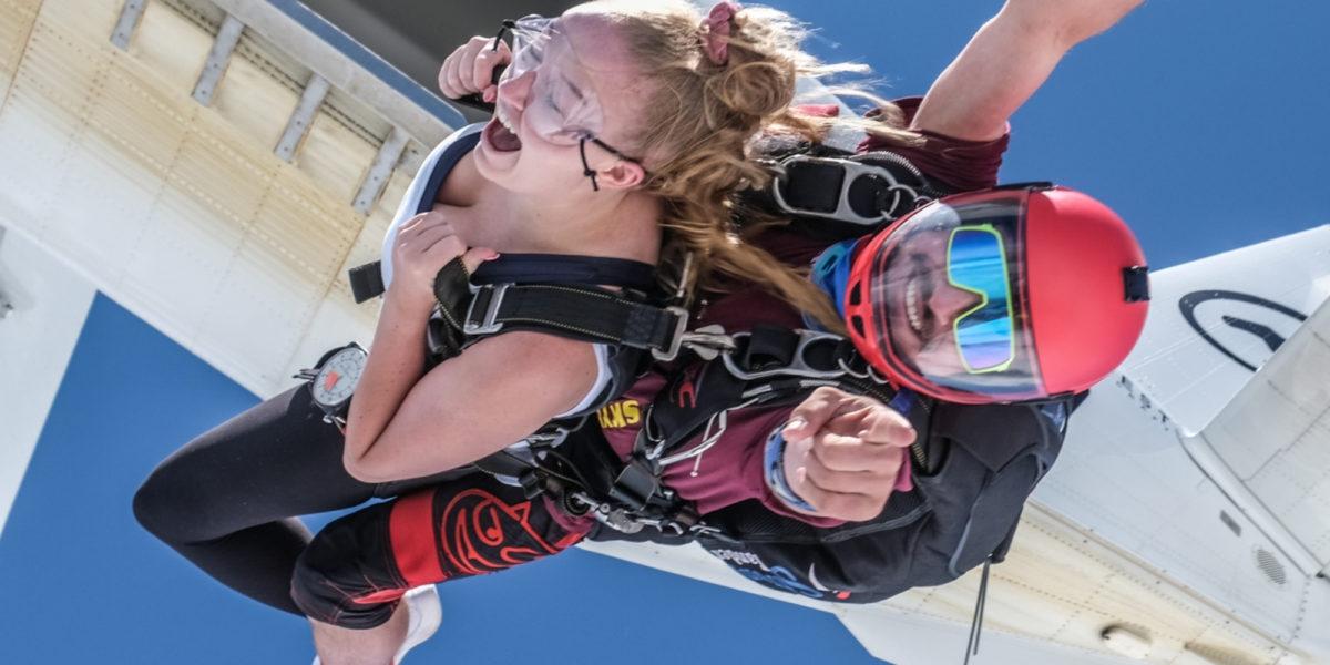 birthday skydive gift
