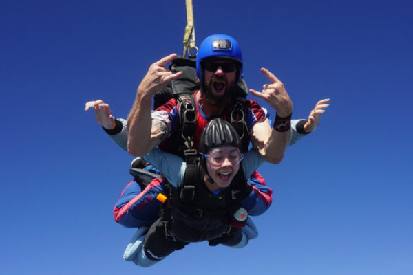 skydiving myths
