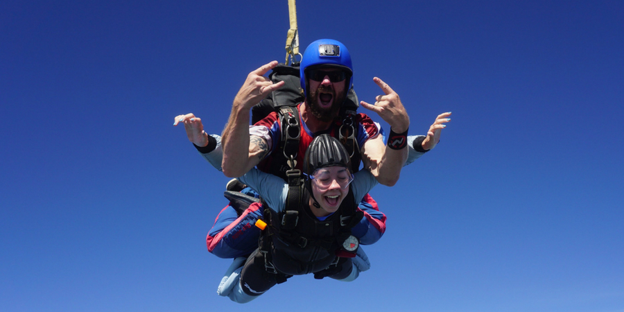 how does it feel to skydive skydive carolina