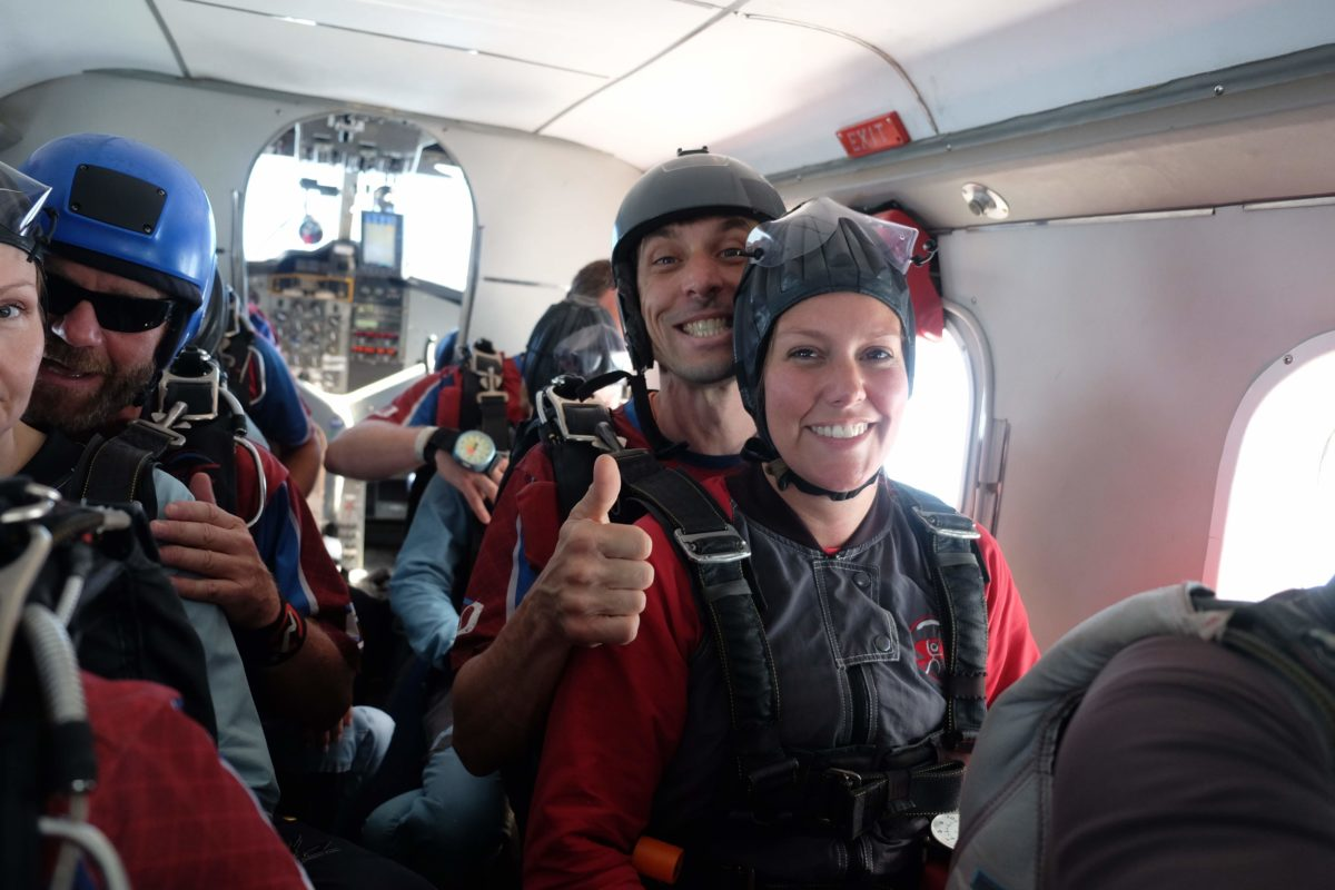 april freeze mom skydiving skydive carolina