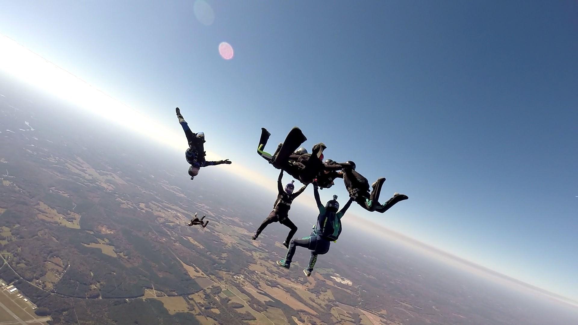 skydiving bucket list ideas