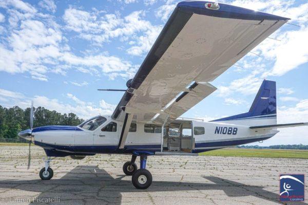 skydiving plane carolina