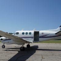 king air at Skydive Carolina