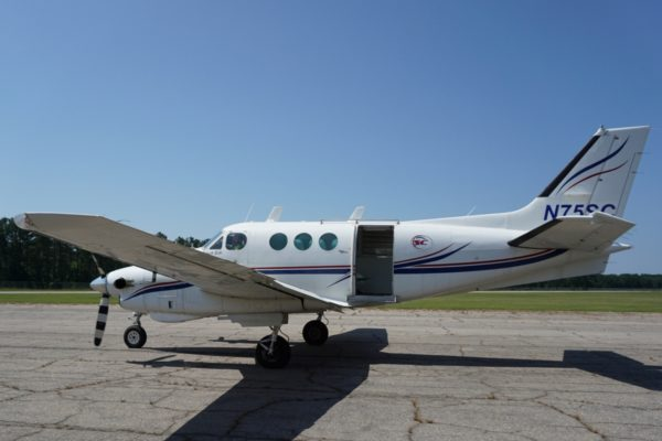 king air at Skydive Carolina