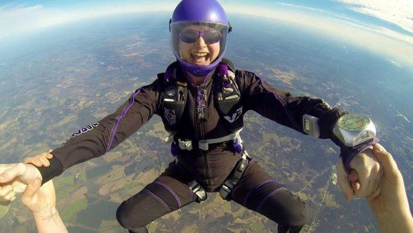 skydiving jumpsuit
