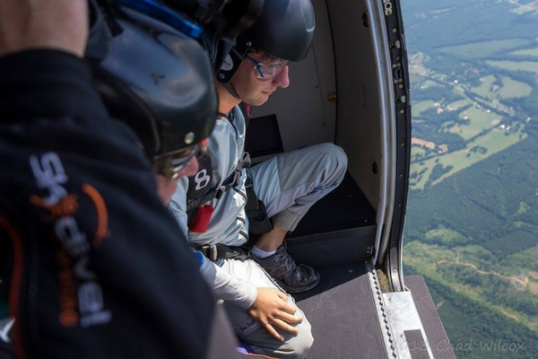 Image result for preparing to skydive