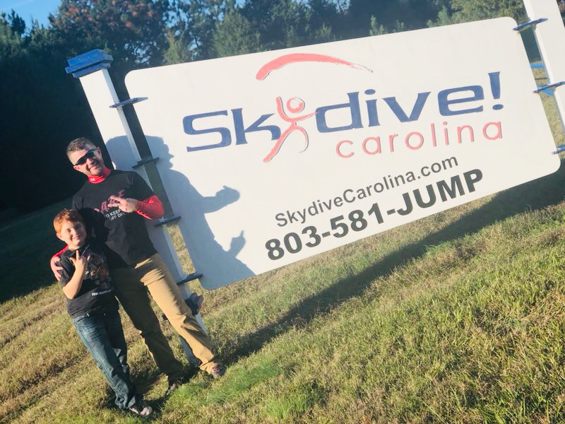 overcoming challenges skydive carolina