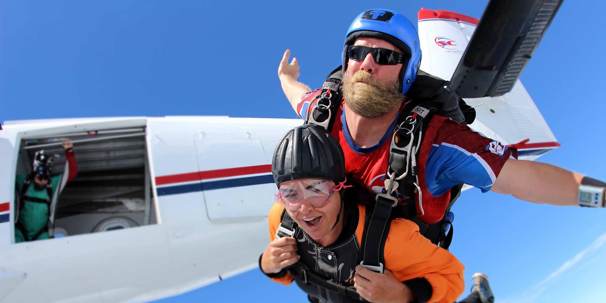 Learn To Skydive Skydiving In Sc Skydive Carolina