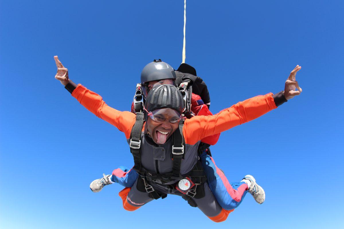 Tandem Skydiving Photos