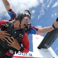 skydiving anxiety