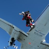 skydiving twin otter skydive carolina skydiving plane