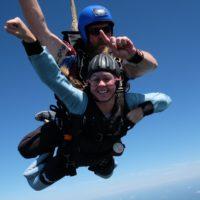 skydiving celebration ideas