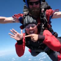 bachelor bachelorette party idea skydiving skydive carolina