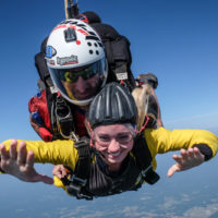 skydiving with a cold