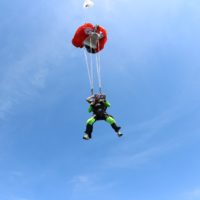 skydiving weight limit