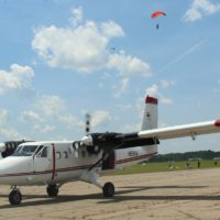 twin otter at Skydive Carolina