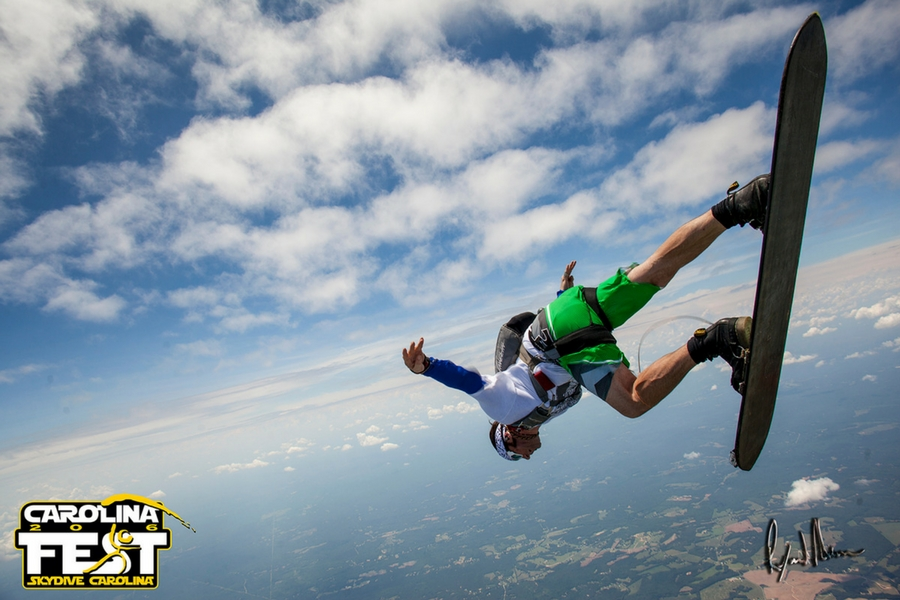 The Evolution Of Skysurfing   Skydive Carolina